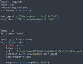 Nro 2 kilpailuun Project Title: Web scraping using Python. käyttäjältä TanmoySarkarDev