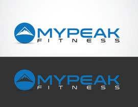 #167 para Design a Logo for mypeak fitness por LOGOMARKET35