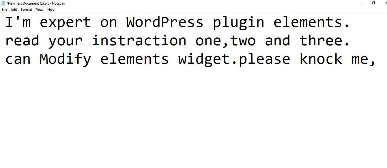 Proposition n°                                        4                                      du concours                                         Modify WordPress plugin elements