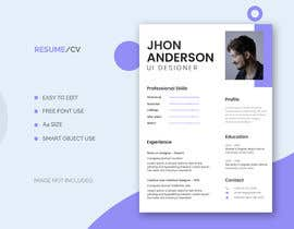 #34 for Build me a Template to present CV's of candidates on af pabasasra