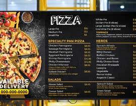 #15 cho Create an Italian restaurant (pizza, etc.) menu to be displayed on a TV bởi Crackerm1101