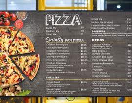 #22 cho Create an Italian restaurant (pizza, etc.) menu to be displayed on a TV bởi Crackerm1101