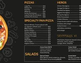 #53 cho Create an Italian restaurant (pizza, etc.) menu to be displayed on a TV bởi AlShahryarRafi