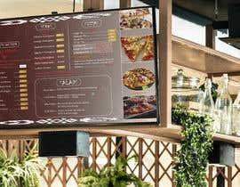 #54 cho Create an Italian restaurant (pizza, etc.) menu to be displayed on a TV bởi MDPARVEZ1015