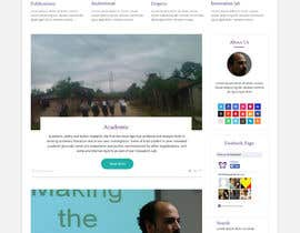 #26 untuk Design a Website Mockup for international NGO oleh syrwebdevelopmen