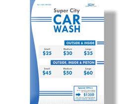#21 untuk Price Board and IG Post Design for Car Wash Shop oleh Rezowanislamrir
