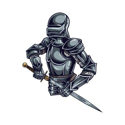 Konkurrenceindlæg #                                        13                                      for                                         Create 4 unique medieval knight characters for a card game (If we're satisfied with the quality we will be commission you to complete the rest of the set. There will be 2,400 needed in total)