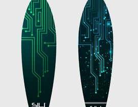 nº 24 pour Design Electric Skateboard Grip Tape (top of skateboard) par Tounsiadem