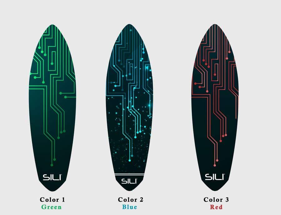 Proposition n°                                        36                                      du concours                                         Design Electric Skateboard Grip Tape (top of skateboard)