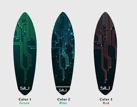 nº 36 pour Design Electric Skateboard Grip Tape (top of skateboard) par Tounsiadem