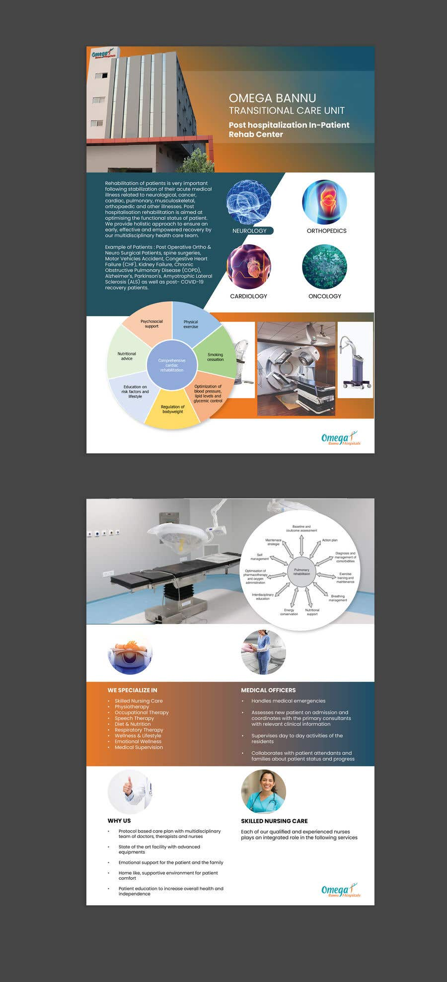 Bài tham dự cuộc thi #                                        2                                      cho                                         brochure design  for a rehab center