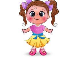 Nro 32 kilpailuun Illustration of cute little girls with outfit käyttäjältä sattarrahmani