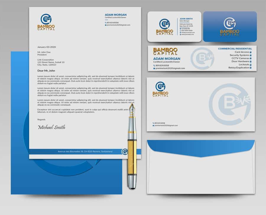 Konkurrenceindlæg #                                        185                                      for                                         Business Stationery Design