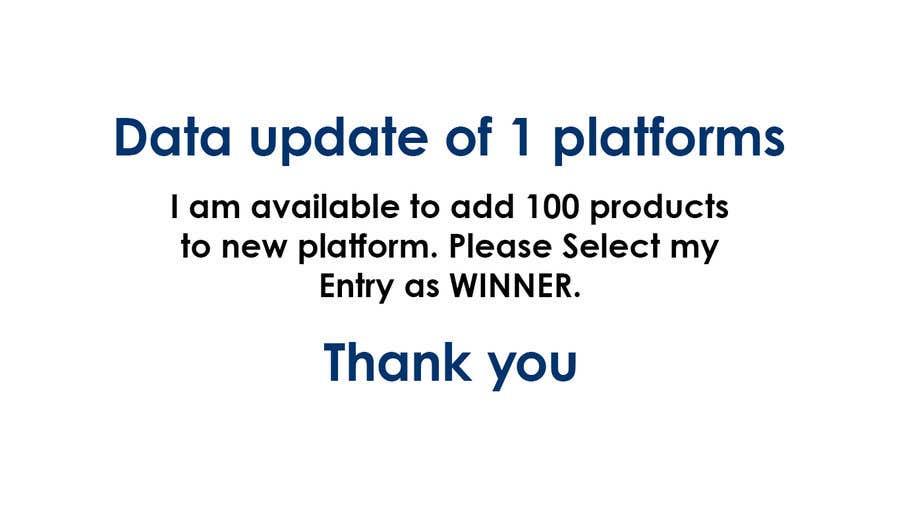 Kilpailutyö #                                        1                                      kilpailussa                                         Data update of 1 platforms