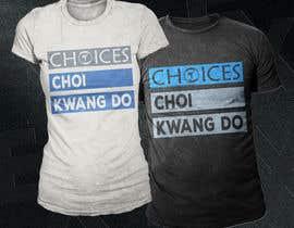 """#24 cho Design a """"street wear"""" T-shirt for my Martial Art school bởi Exer1976"""
