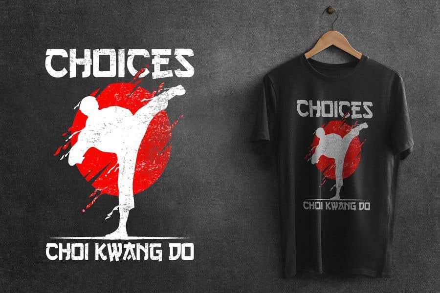 "Kilpailutyö #                                        53                                      kilpailussa                                         Design a ""street wear"" T-shirt for my Martial Art school"