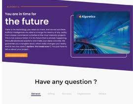 #46 cho Design Homepage HTML bởi jhaankitkumar12