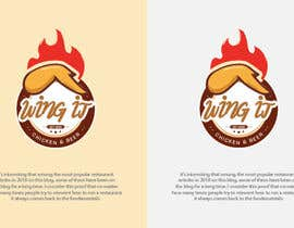 nº 126 pour Design a logo for a chicken and beer takeaway chain store par Mohammed0901