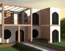 EmperorAR tarafından Home front facade mockup - Indian or Eastern style but flexible için no 8
