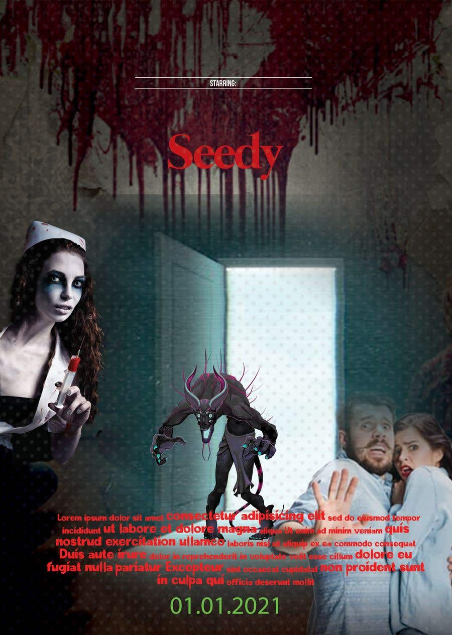 Bài tham dự cuộc thi #                                        7                                      cho                                         Movie poster design