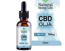#148 cho Create a series of new labels for our CBD Oils. bởi Pulakbindu