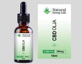 #160 cho Create a series of new labels for our CBD Oils. bởi Pulakbindu
