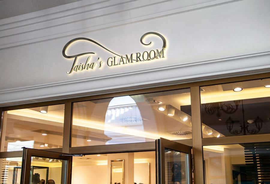 Kilpailutyö #                                        148                                      kilpailussa                                         Taish Glam Room - Logo Design