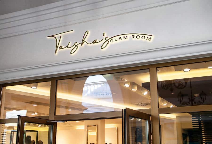 Kilpailutyö #                                        152                                      kilpailussa                                         Taish Glam Room - Logo Design