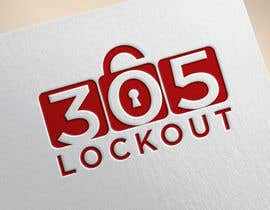 #175 for 305 LockOut - Logo Design af RoyelUgueto