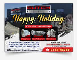 #101 cho Holiday greetings to our clients in Europe from Duitch Reman bởi ivaelvania