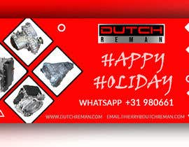 #108 cho Holiday greetings to our clients in Europe from Duitch Reman bởi DesignerRM97