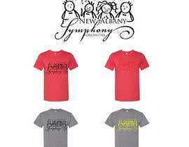 Nro 144 kilpailuun NEw Albany Symphony Chorus Tee shirt Design. käyttäjältä anwarbd25