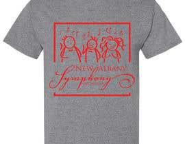 Nro 141 kilpailuun NEw Albany Symphony Chorus Tee shirt Design. käyttäjältä LeonardoGhagra