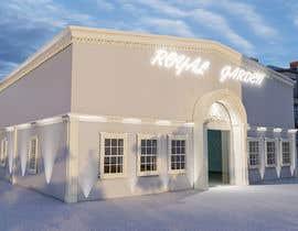 nº 26 pour Design a building (wedding BANQUET hall) facade par dorukhanturk