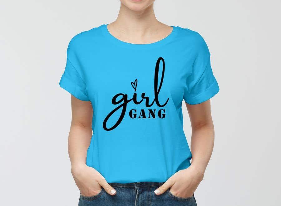 Inscrição nº                                         140                                      do Concurso para                                         TShirt Design - Girl Gang