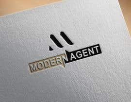 #4135 untuk Modern Agent Logo oleh designerkulsum86