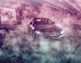 #75 cho I want colored smoke on the car photoshopped bởi mohmed7amdy96
