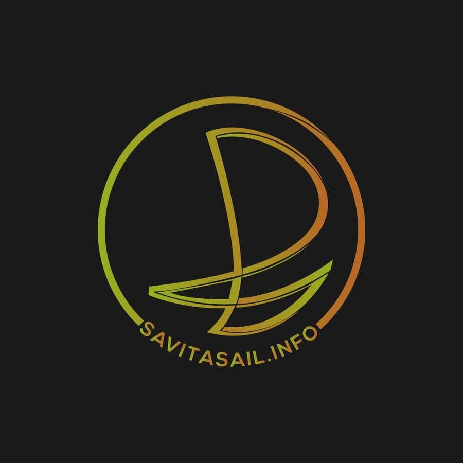 Kilpailutyö #                                        217                                      kilpailussa                                         Design logo for a sailing catamaran