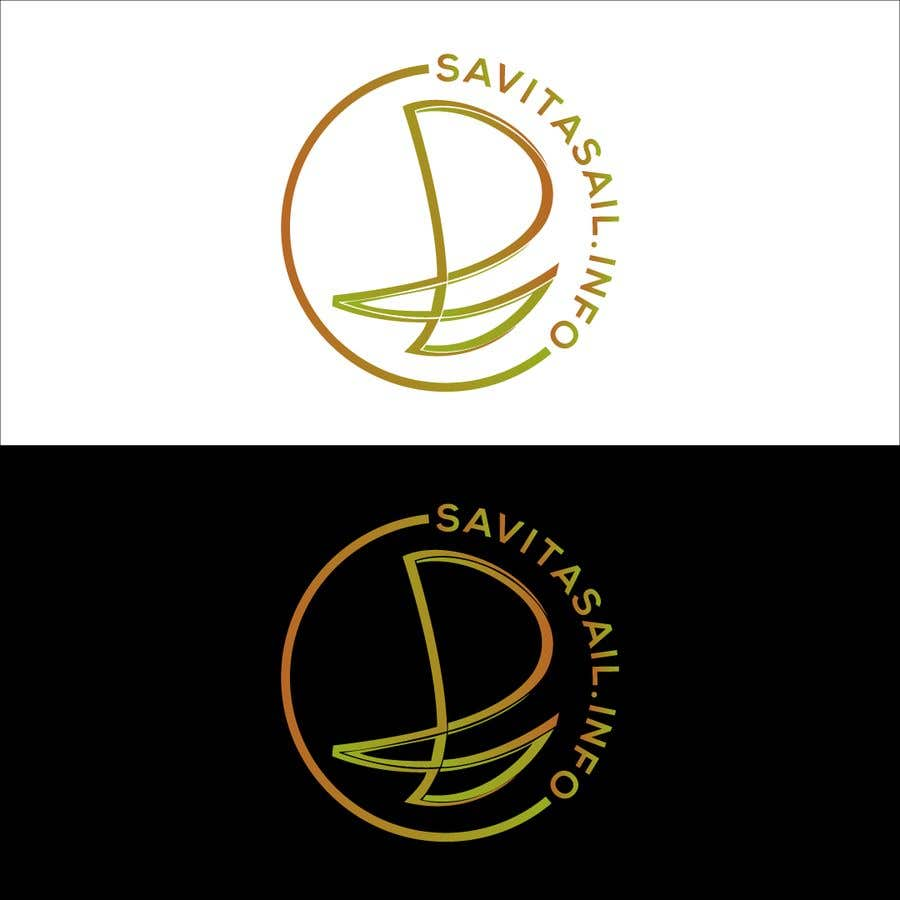 Kilpailutyö #                                        218                                      kilpailussa                                         Design logo for a sailing catamaran