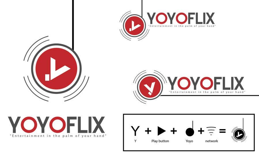 Bài tham dự cuộc thi #112 cho Design a Logo for yoyoflix