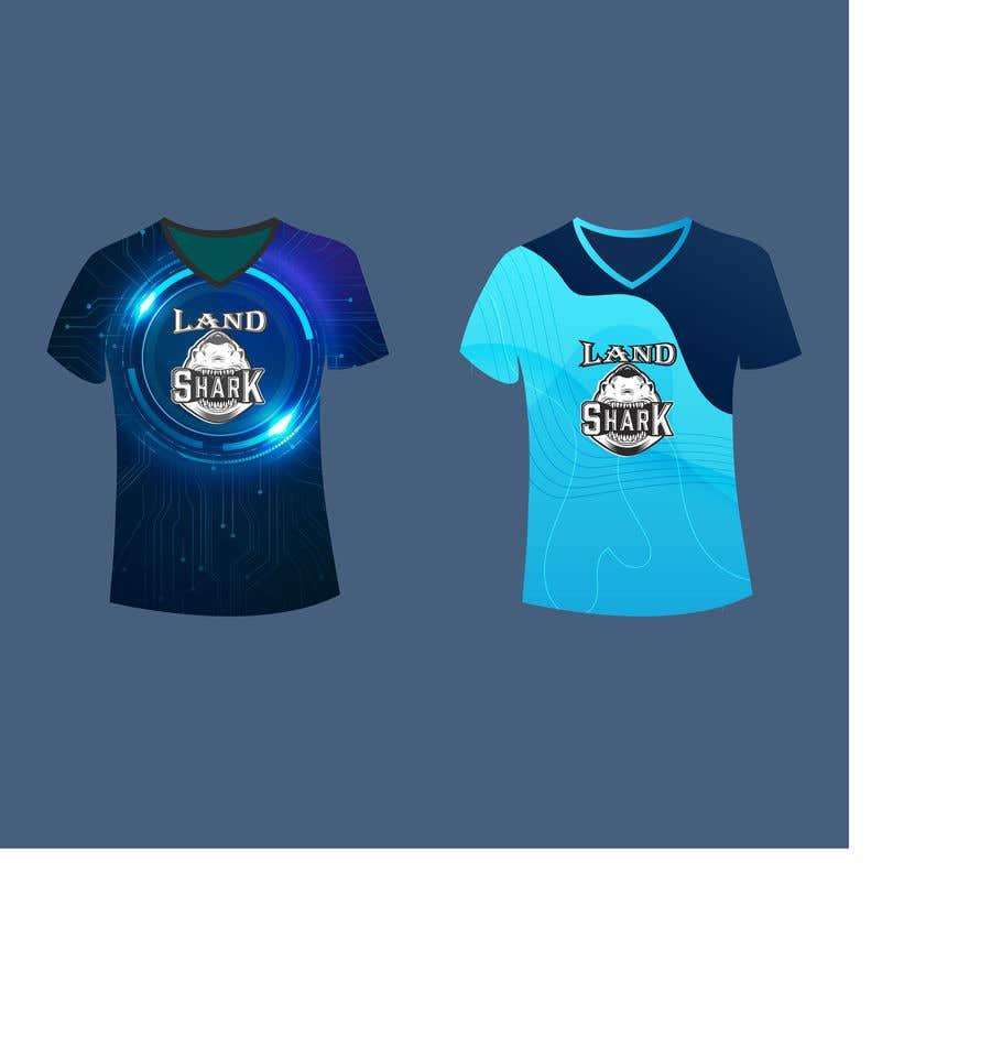Penyertaan Peraduan #                                        202                                      untuk                                         Land Sharks (images for t-shirts)