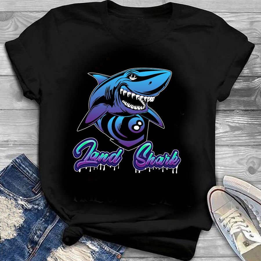 Penyertaan Peraduan #                                        203                                      untuk                                         Land Sharks (images for t-shirts)