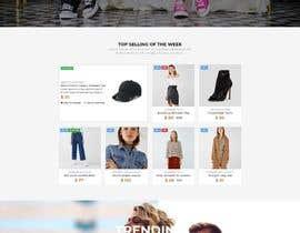 #56 untuk Create a website (online store e-Commerce) ***NO WORDPRESS ALLOWED*** oleh zubairmukhtar92