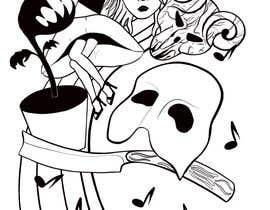 #20 untuk Neo Traditional, Musical Themed Tattoo oleh angelinaart