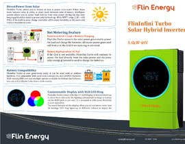 #23 for Design a Brochure for a new electrical product af EMSHamza