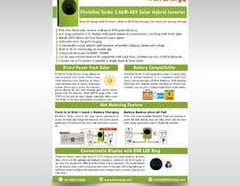 #21 for Design a Brochure for a new electrical product af meddysigns