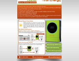 #22 for Design a Brochure for a new electrical product af meddysigns