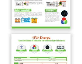 #25 for Design a Brochure for a new electrical product af hossiniqbal342