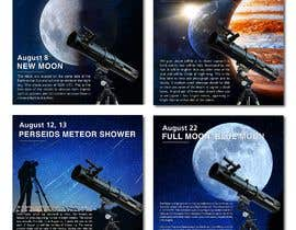 #84 for Astronomical Images for Facebook by MavirDesign