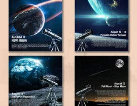#24 for Astronomical Images for Facebook by glittergraphics